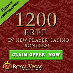 Royal Vegas Slot Machines Bonus